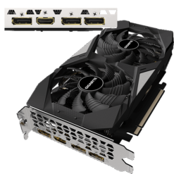 Card VGA GIGABYTE GeForce GTX 1660 SUPER™ OC 6GB GDDR6