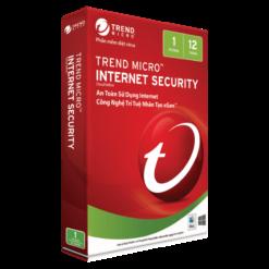 PM diệt virus TrendMicro Internet Security bản quyền 3PC